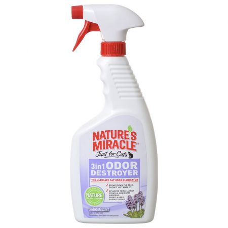 Natures Miracle Nature's Miracle Just For Cats 3 In 1 Odor Destroyer - Lavender Scent