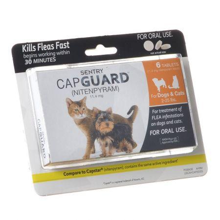 Sentry Sentry CapGuard Flea Tablets for Cats