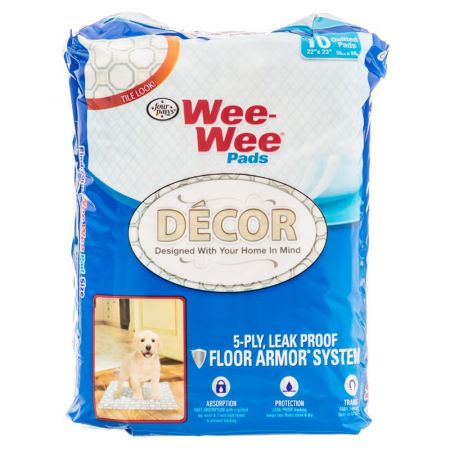 Four Paws Four Paws Wee Wee Decor Pads - Tile
