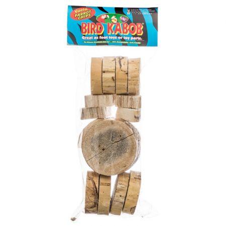 Bird Kabob Wesco Bird Kabob - Yucca Chip Parrot Toys