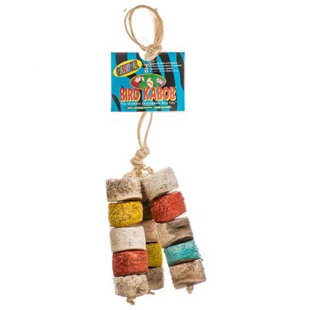 Bird Kabob Wesco Bird Kabob Shreddable Bird Toy - Chiquito