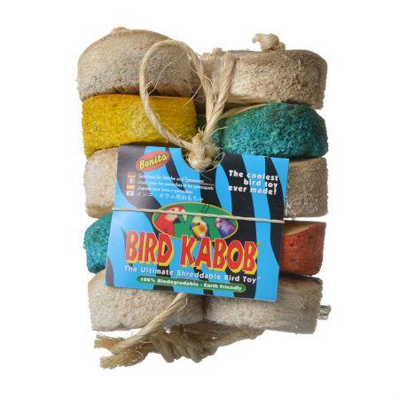 Bird Kabob Wesco Bird Kabob Shreddable Bird Toy - Bonita