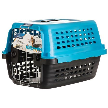 Petmate Compass Kennel - Blue & Black alternate view 1