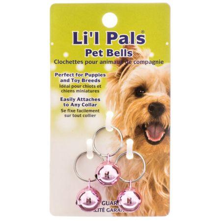 Li'l Pals Lil Pals Pet Bells - Pink