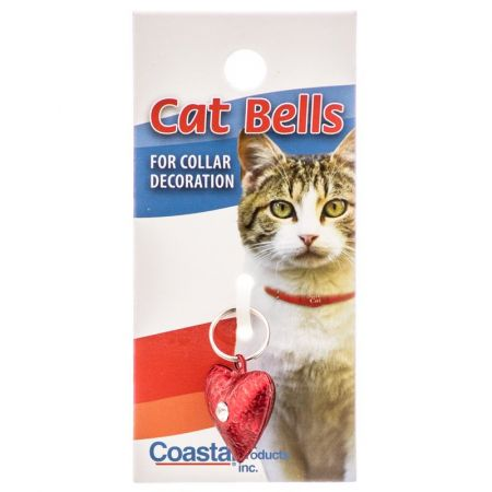 Li'l Pals Lil Pals Frosted Designer Cat Bell - Red Heart