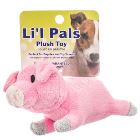 Li'l Pals Lil Pals Ultra Soft Plush Dog Toy - Pig