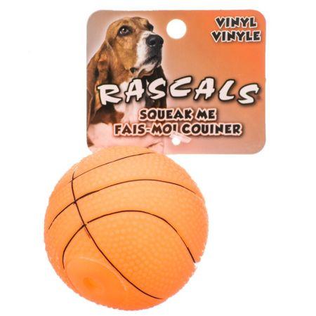 Coastal Pet Rascals Vinyl Basketball for Dogs