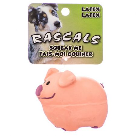 Coastal Pet Rascals Latex Pig Dog Toy - Pink