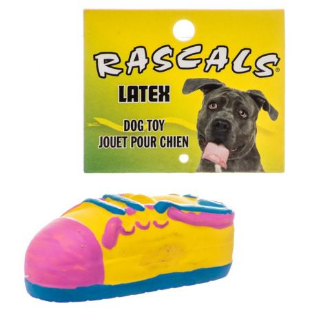 Coastal Pet Rascals Latex Small Tennis Shoe Dog Toy