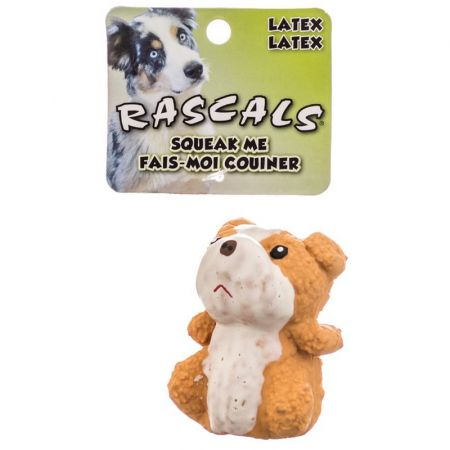 Coastal Pet Rascals Latex Bulldog Dog Toy