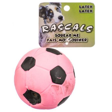 Coastal Pet Rascals Latex Soccer Ball for Dogs - Pink