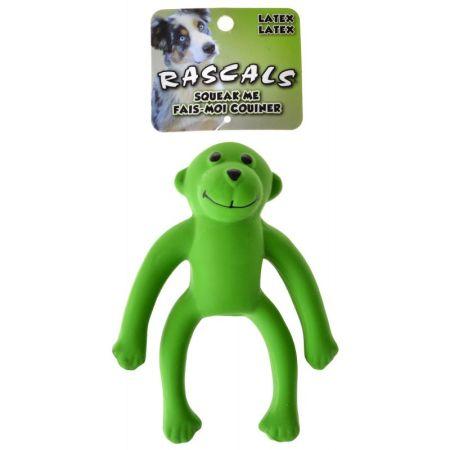 Coastal Pet Rascals Latex Monkey Dog Toy - Green