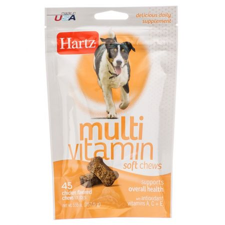 Hartz Hartz Multivitamin Soft Chews for Dogs - Chicken Flavor