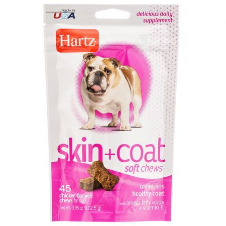 Hartz Hartz Skin & Coat Soft Chews for Dogs - Chicken Flavor