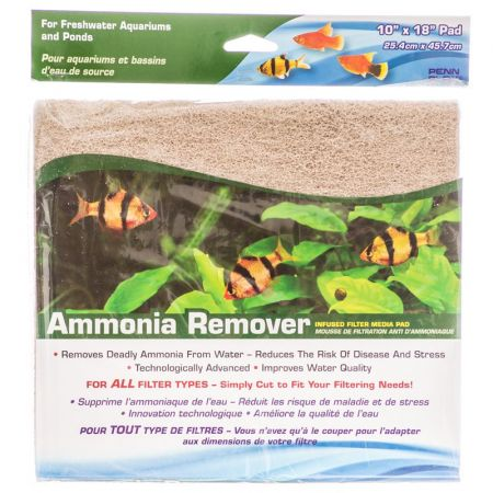 Penn Plax Penn Plax Ammonia Remover Infused Filter Media Pad