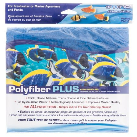 Penn Plax Penn Plax Polyfiber Plus Filter Media Pad