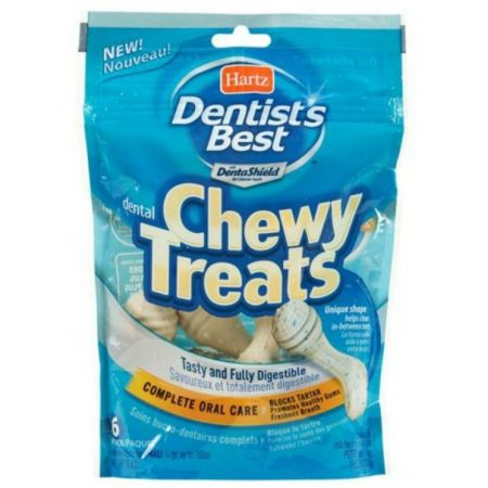 Hartz Hartz Dentist's Best Chewy Treats - Teeth Cleaning Shape