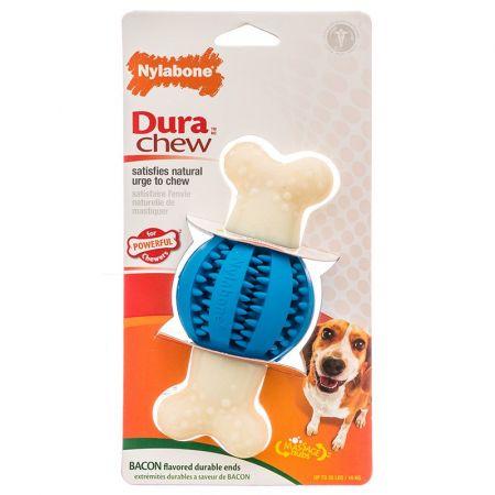Nylabone Nylabone DuraChew Double Action Dental Chew - Round Ball