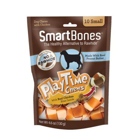 Smartbones SmartBones PlayTime Chews for Dogs - Peanut Butter