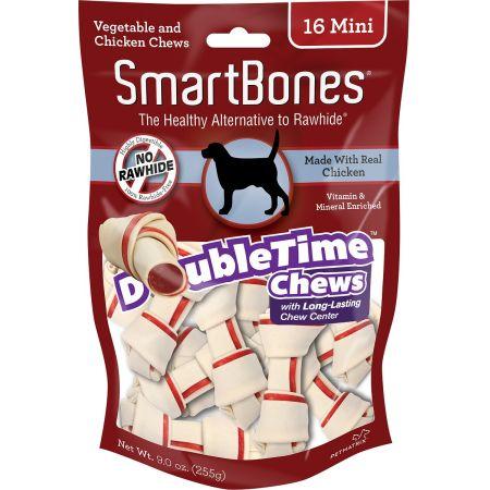 Smartbones SmartBones DoubleTime Bone Chews for Dogs - Chicken