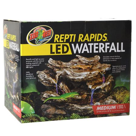Zoo Med Zoo Med Repti Rapids LED Waterfall - Rock Style