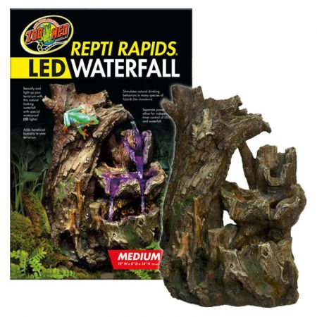 Zoo Med Zoo Med Repti Rapids LED Waterfall - Wood Style