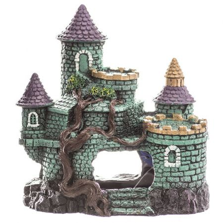Blue Ribbon Pet Products Blue Ribbon Exotic Environments Hobbit Castle Aquarium Ornament