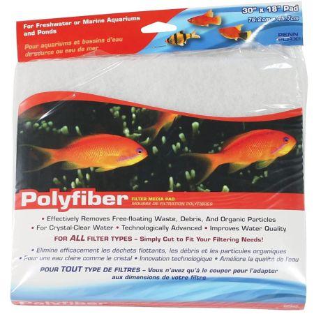 Penn Plax Polyfiber Filter Media Pad