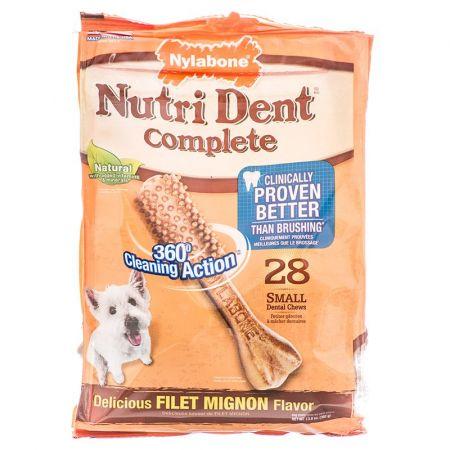 Nylabone Nylabone Nutri Dent Complete Dental Chew - Filet Mignon Flavor