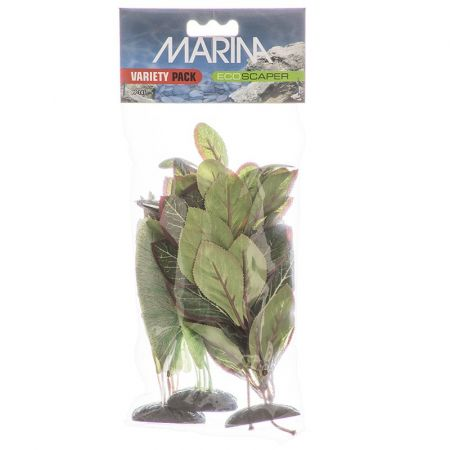 Marina EcoScaper Silk Aquarium Plant Variety Pack alternate view 1