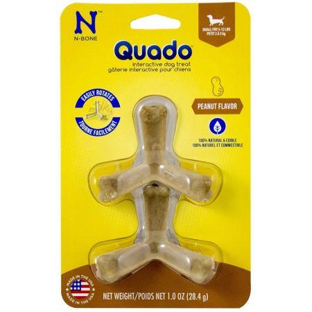 N-Bone N-Bone Quado Interactive Dog Treat - Peanut Flavor