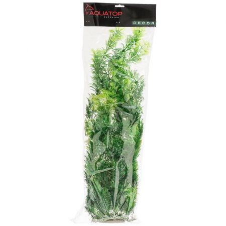 Aquatop Bushy Aquarium Plant - Dark Green