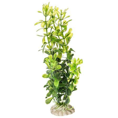 Aquatop Plastic Aquarium Plants Power Pack - Rich Green