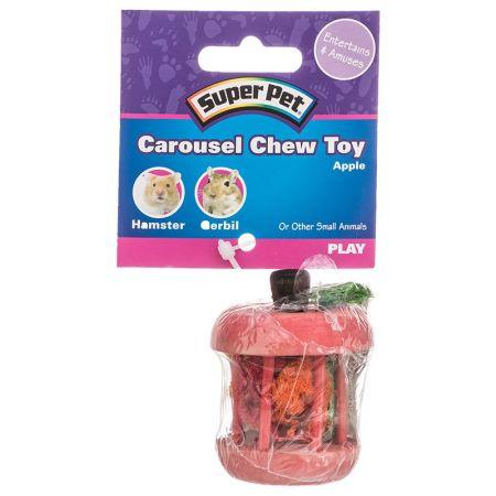 Super Pet Carousel Chew Toy - Apple