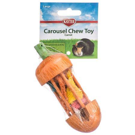 Kaytee Kaytee Carousel Chew Toy - Carrot