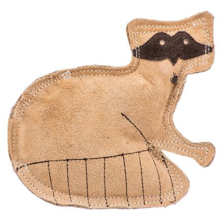 Spot Spot Dura-Fused Leather Raccoon Dog Toy