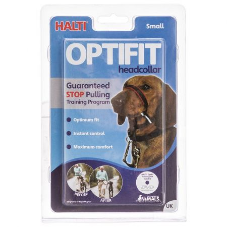 Company of Animals Halti Optifit Deluxe Headcollar for Dogs