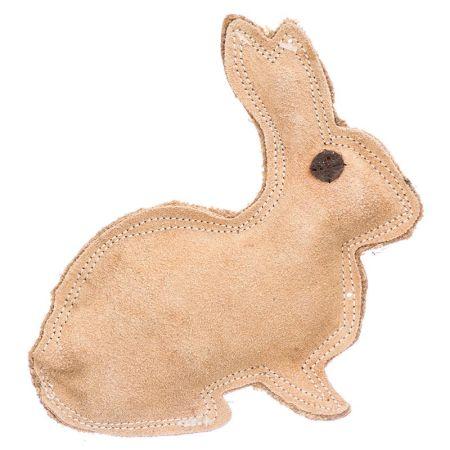 Spot Spot Dura-Fused Leather Rabbit Dog Toy