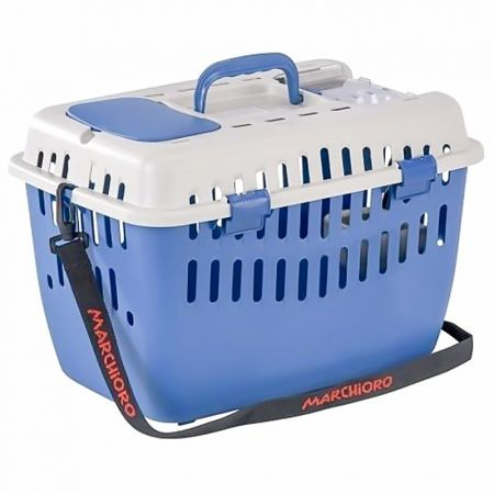 Marchioro Products Marchioro Binny 1 Top Cat Carrier - Blue