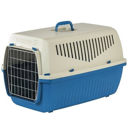 Marchioro Skipper F Kennel for Dogs & Cats - Blue