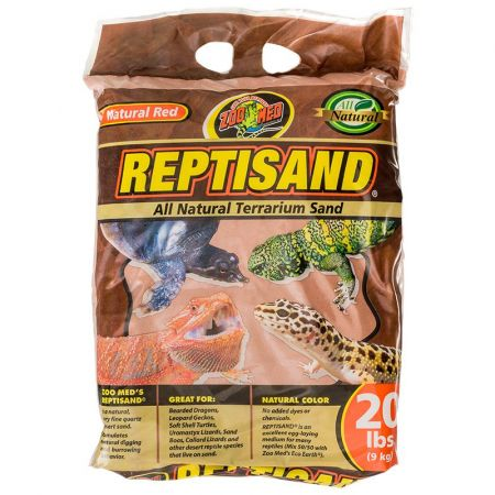 Zoo Med Zoo Med ReptiSand Substrate - Natural Red