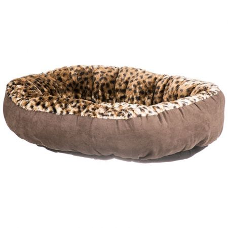 Aspen Pet Aspen Pet Round Pet Bedding - Animal Print