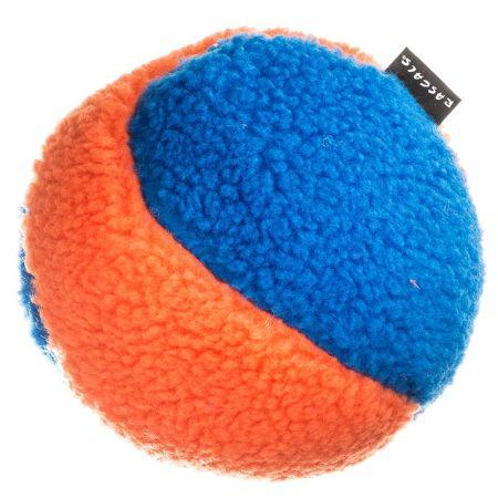 Coastal Pet Rascals Fleece Ball Dog Toy - Orange & Blue