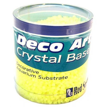 Red Sea Red Sea Deco Art Crystal Base for Aquariums - Yellow
