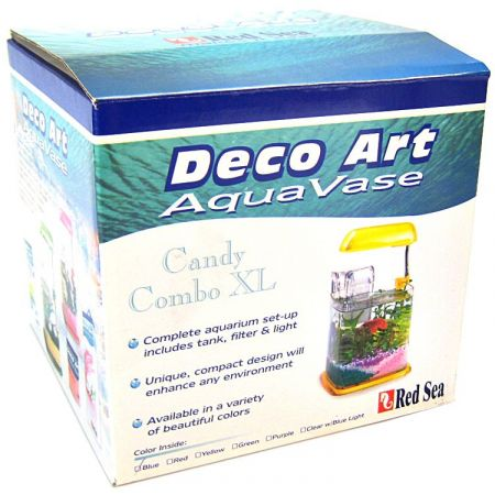 Red Sea Red Sea Deco Art AquaVase Candy Combo Aquarium Kit - Green
