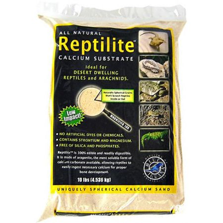 Caribsea Blue Iguana Reptilite Calcium Substrate for Reptiles - Aztec Gold