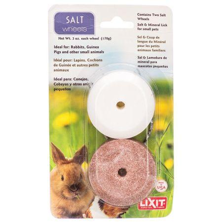 Lixit Lixit Salt & Mineral Wheels for Small Pets