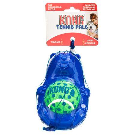 Kong Kong Tennis Pals Ball & Squeaker Dog Toy - Beaver