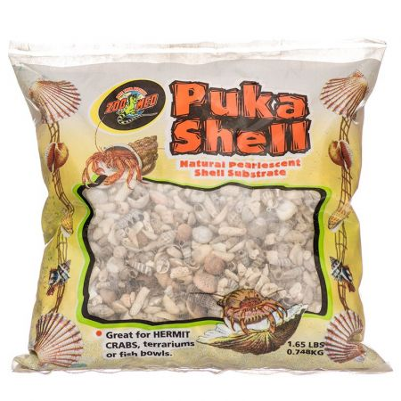 Zoo Med Zoo Med Puka Shell Natural Pearlescent Substrate for Hermit Crabs
