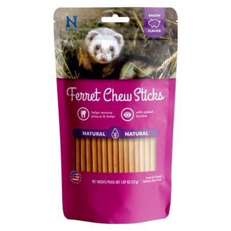 N-Bone N-Bone Ferret Chew Treats - Bacon Flavor